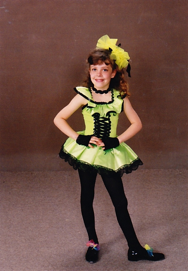 1993 Kindergarden-first dance recital