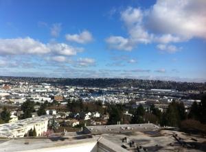 Rooftop in Seattle