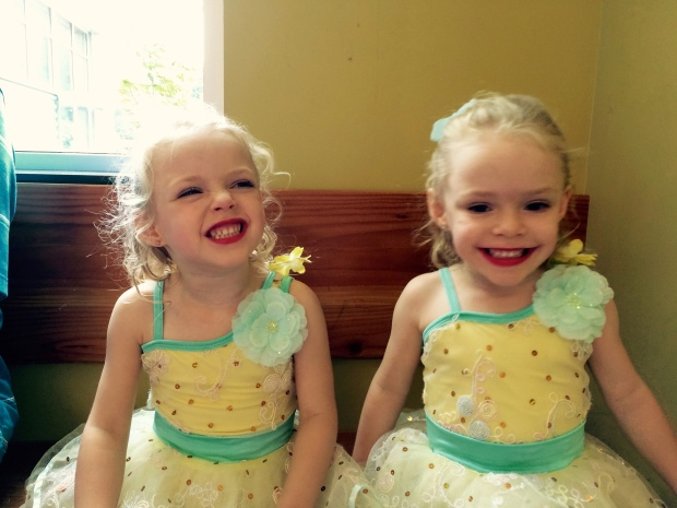 Right before their recital